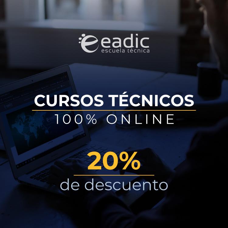 Cursos 100% Online EADIC